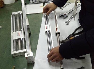 斯麦特-无杆气缸检测装配