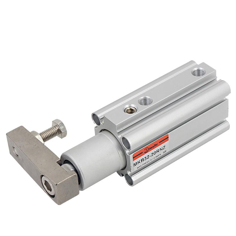 无锡斯麦特mk系列下压转角气缸,可以承载更大的转动惯量,不需要给油.图片